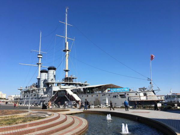 【遊ぶ券】横須賀の人気観光スポット記念艦三笠を見学