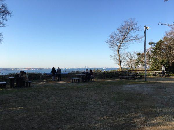 猿島の展望台からの眺めと観光