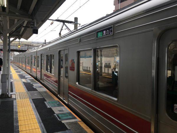 等々力渓谷へのアクセスは東急大井町線等々力駅へ各駅で