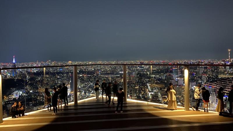 渋谷スカイの夜景をレビュー!屋上展望台はチケット事前予約がおすすめ