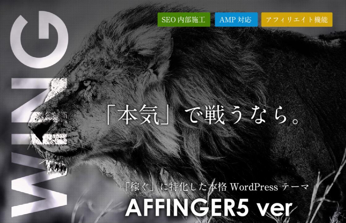アフィンガー5(AFFINGER5)を購入【購入方法と使い方】