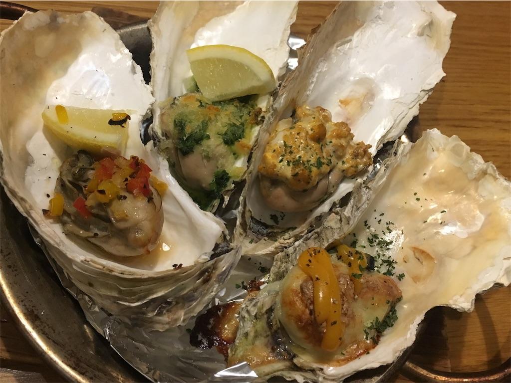 オイスターズインク(OYSTERS, INC)の焼き牡蠣