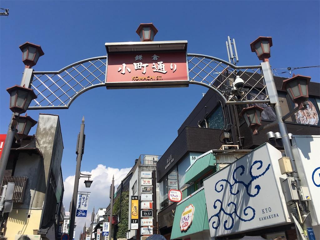 小町通り 門