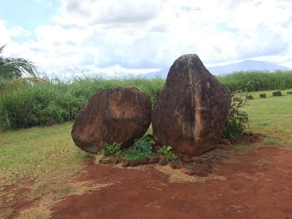 クカニロコバースストーンの夫婦岩